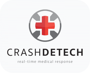 This is the company logo of CrashDetech