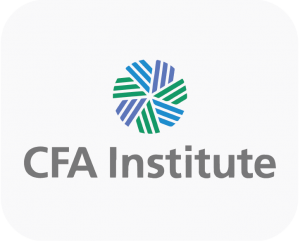 This is the company logo of the CFA Institute