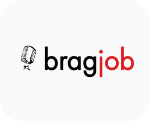 This is the company logo of Bragjob