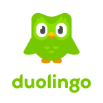 This is the company logo of Duolingo